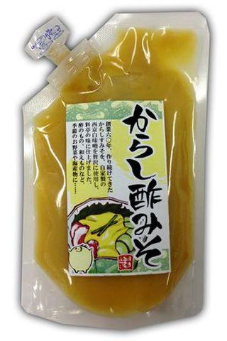 からし酢みそ(150g)