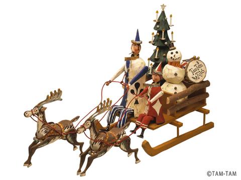 シャドウボックスキット N-5 CHRISTMAS SLEIGH