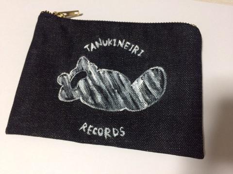 Tanukineiri Records Original ポーチ