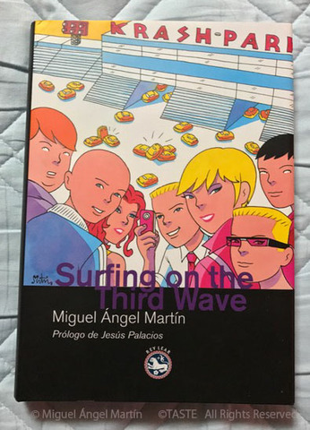 Surfing on the Third Wave 洋書ハードカバー サイン入