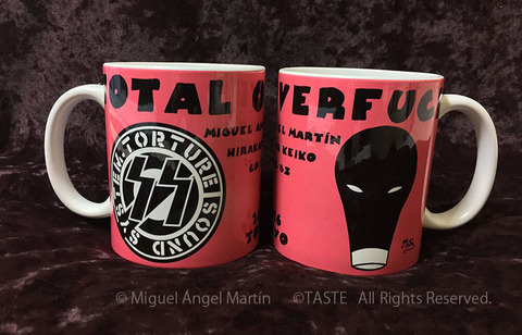 TOTAL OVERFUCK EXHIBITION MUGCUP マグカップ