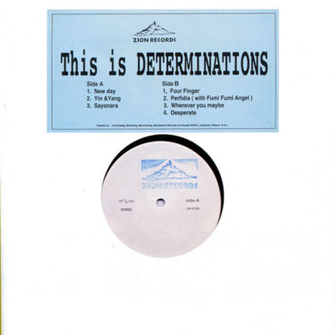 DETERMINATIONS 『This Is Determinations』
