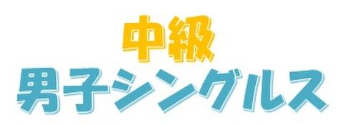 H30.07.22(日)男子シングルス中級