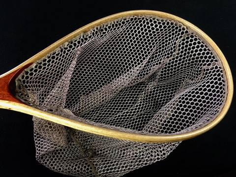 スペアーメッシュ(C&R)ネット(未染色/ポリエステル)●深さ35センチ用/枠内周95センチ