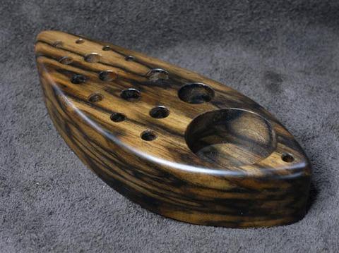 ツールスタンドBOKO(ボコ)-1515 黒柿極上杢ーS