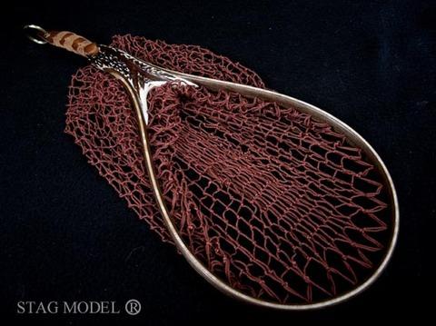在庫有り★ランディングネット●STAG-MODEL(鹿角モデル/本流用)即売品(1702)2008TDR
