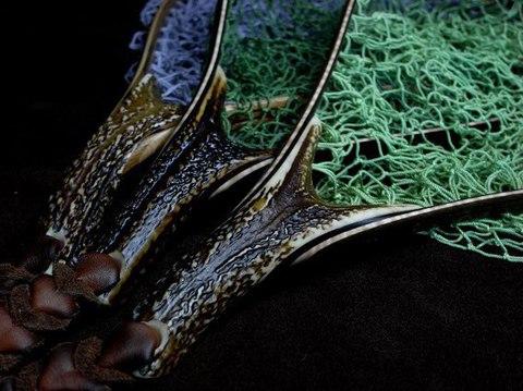 スペアー手編みネットの染色加工(単色の特注色) ●各サイズ共通