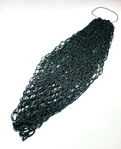 スペアー手編みネット-21(染色済み/クレモナ) ●34目深さ32センチ