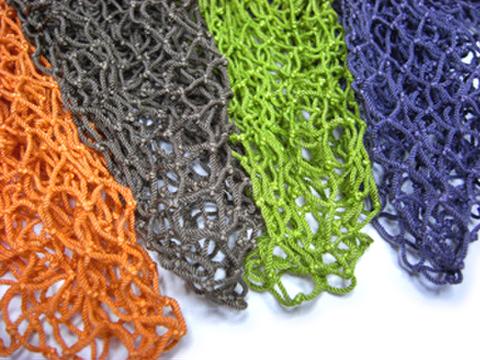 スペアー手編みネットの染色加工(弊社規定色) ●各サイズ共通