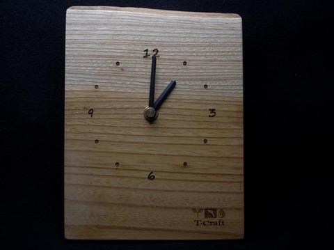 銘木時計 ●ケヤキ 002