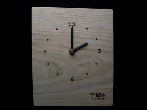 銘木時計 007 ●栗 B