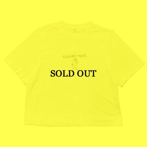 ヨシカワサトル 『ハダカデバネズミ刺繍Tシャツ』