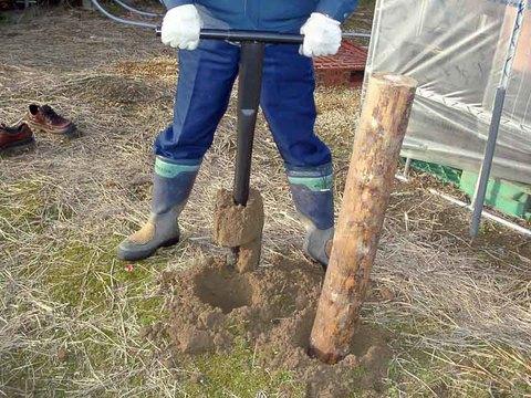 かんたんジャンボ 穴掘器