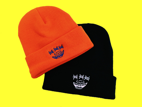 Face Knit Cap