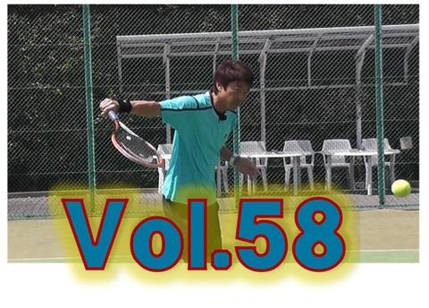 ブルーレイ   実践マガジンvol.58  テニスはキャッチボールだぁ! ①キャッチする感覚を中心に、ボレーとか…スライスとか…