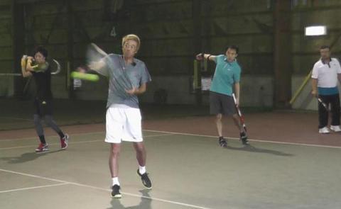 テニス楽オンコートLIVE DVD   on the court2013秋