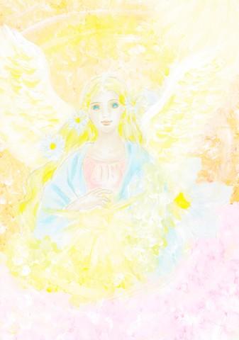 天使の喜びと祝福・ポストカード