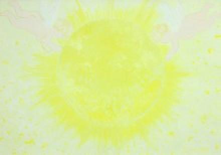天の光へ (原画)