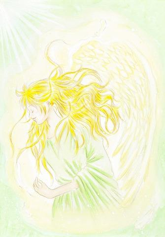 自然界の天使 (原画)