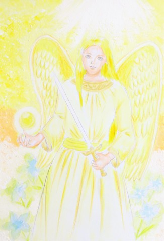 守護天使(原画)