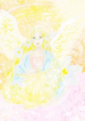 天使の喜びと祝福