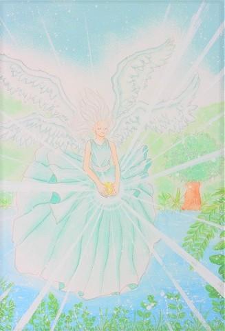 天使アート(原画)