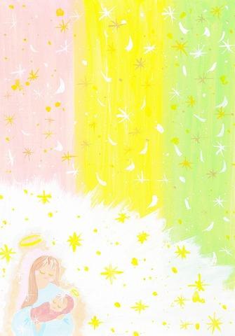 聖母の愛(原画)
