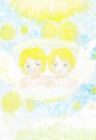 ツインソウルの天使(原画)