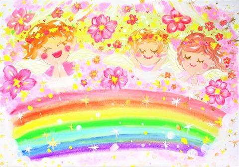 花の楽園天国(原画)