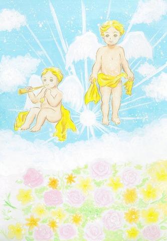 幸せの天使 (原画)