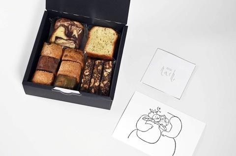 Hachi × KOCKA 焼き菓子の箱