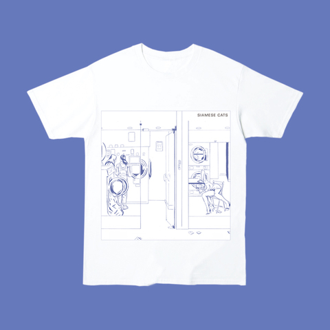 """Discography Cover T-shirt """"はなたば"""""""