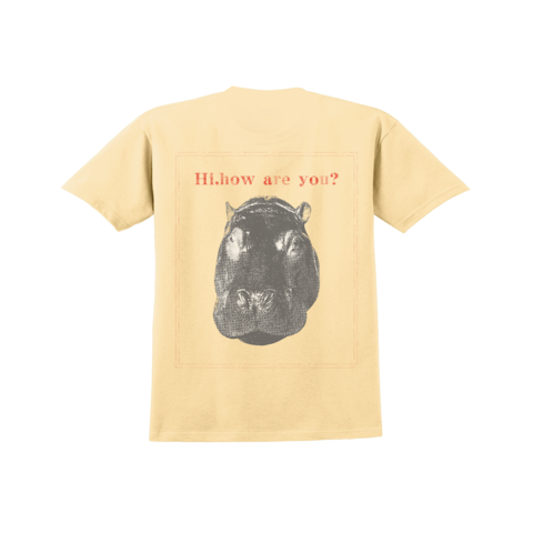 """Hi,how are you? """"Hippo"""" T-shirts"""