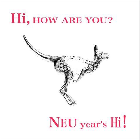 NEU year's Hi!  CD