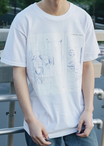 "Discography Cover T-shirt ""はなたば"""