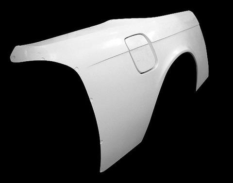 SILVIA S14 リアワイドフェンダー 50mmワイド