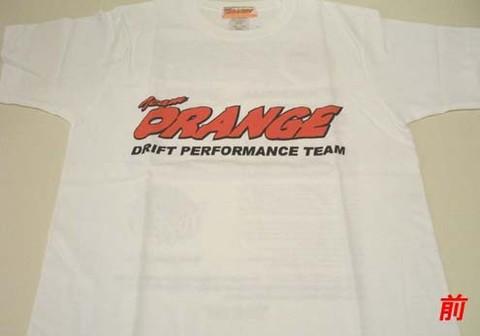 Tシャツ 2009モデルスポンサー(ホワイト)#ORG0017
