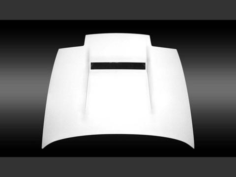 180SX R[P]S13 エアロダクト付ボンネット カーボン UVカットクリア塗装