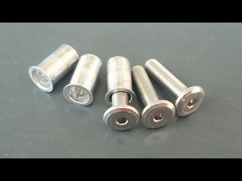 IMPREZA オーバーフェンダー用 リベット調ステンレスボルト&ナッターセット(30セット入)