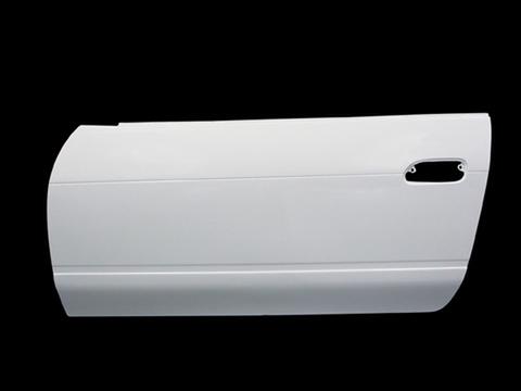 SILVIA [P]S13 ドアカバー左右セット カーボン クリア塗装