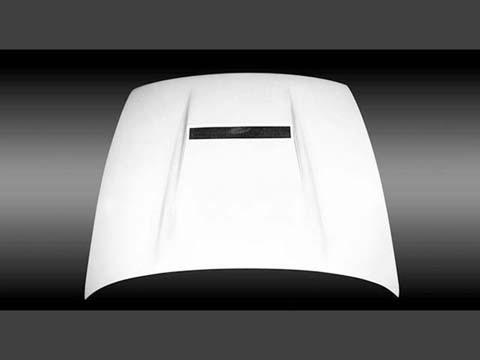 SILVIA [P]S13 エアロダクト付ボンネット FRP