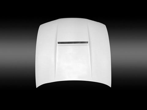 SILVIA S15 エアロダクト付ボンネット カーボン UVカットクリア塗装
