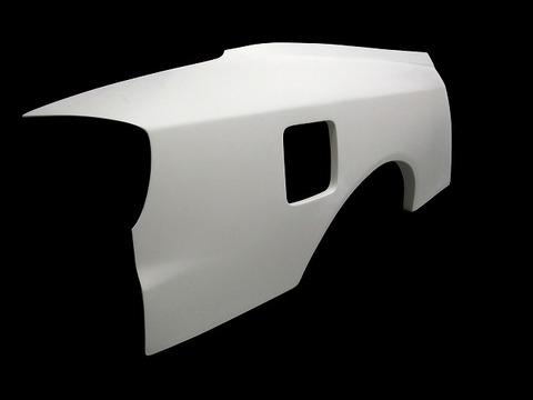 SILVIA S15 リアワイドフェンダー 30mmワイド