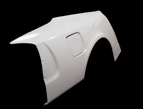 SILVIA S15 リアワイドフェンダー 50mmワイド