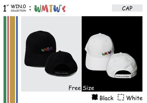 《国際郵便送料込み》【B】WIN公式ファンクラブ キャップ(帽子) WMTW's