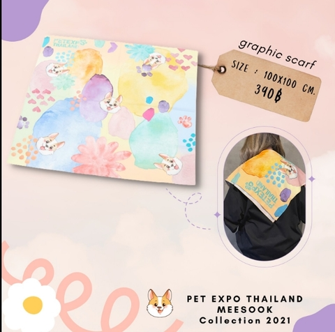 Meesok スカーフ Pet Expo Thailand×Mew Suppasit《eパケット込み》
