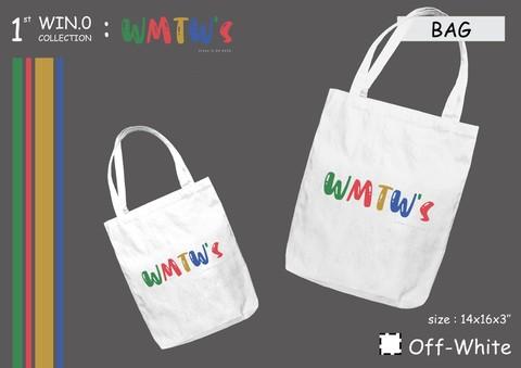 《国際郵便送料込み》【C】WIN公式ファンクラブ トートバッグ WMTW's