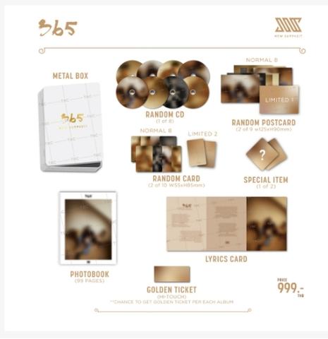 Mew Suppasit 1st album: 365 (Normal Edition) 通常版《eパケット送料込》