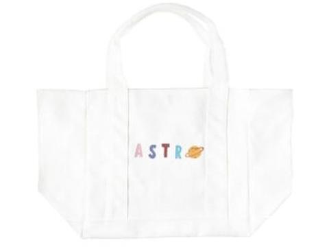 《書留送料込》新作 Astroトートバッグ ホワイト(Brightプライベートブランド)