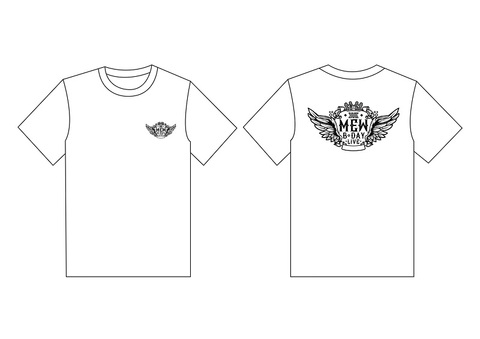 MEW『B DAY LIVE CONCERT』Tシャツ 白色 XLサイズ《eパケット送料込》